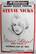 "Stevie Nicks 1994 ""Street Angel Tour"" Philadelphia Concert Poster -Fleetwood Mac"