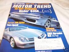 Motor Trend Magazine 6/2000 Ferrari 360 Spider