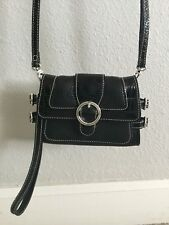 Brighton Handbag Black Organizer Crossbody New