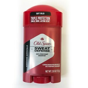 Old Spice Sweat Defense Deodorant Antiperspirant Stronger Swagger 2.60 oz 2022