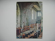 Iona – Abbey Church of St. Mary from Choir Stalls. (Iona Community – 1974)