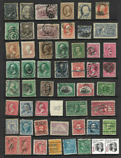 19th Century #65 73 114 216 BOB  Few Fancy Cancels 1-15 Cent Collection US A4