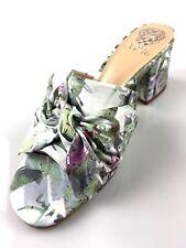 Vince Camuto Sharrey Bow Mule Sandal Floral Graffiti Print New