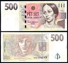 CZECH REPUBLIC 500 Korun 2009 UNC P 24