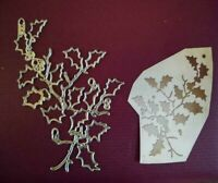 Sizzix Die Cutter Thinlits Christmas Holly Branches  fits Big Shot