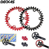 DECKAS 96BCD-S MTB Bicycle Chainring Narrow Wide  32 34 36 38T Chain Ring Bolts
