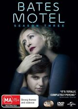 Bates Motel : Season 3 (DVD, 3-Disc Set) NEW