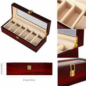 Multisize Watch Display Grids Storage Box Jewel Collection Case Organiser Holder