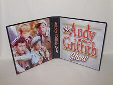 Custom Made The Andy Griffith Show Trading Card Album Binder