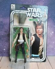 "Star Wars Black Series 6"" Han Solo Figure 40th Anniversary *READ*"