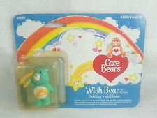 "Care Bears Wish Bear 2"" PVC Miniature Figure Kenner 1984 Vintage"