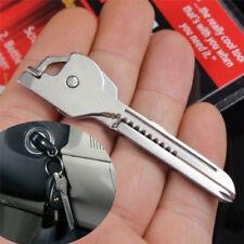 Stainless Steel EDC Multi Tools Key Ring Screwdriver Bottle Opener Survival Kits