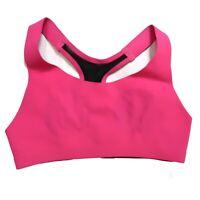 Lululemon Size 32A Bitty Bracer Seamless Sports Bra Pink Racerback