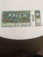 Phish Ptbm 7/16/ 2016 Gorge Amphitheatre George Wa Ticket Stub Summer Trey Page