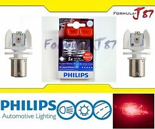 Philips X-Treme Vision LED Light Bulb 1157 Rouge Red Brake Driving Turn Signal