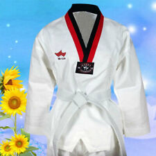 Kids Karate Taekwondo Uniform Suits Best Quality Martial Arts New With Belt OGLS