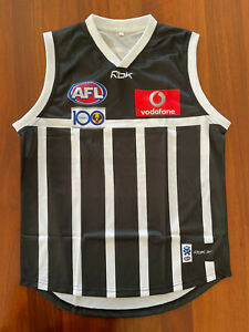 Port Adelaide 1977 Prison Bars Power Magpies Repro Guernsey Jumper Jersey