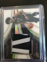 2018 Immaculate Jarret Allen # ED / 25 !! Letter Patch Rookie 🔥