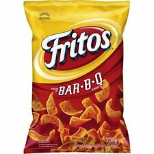 3 Bags Fritos BBQ Corn Chips LARGE Size 370g FRITO LAY From Canada FRESH!
