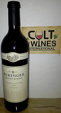 RP 93 pts! 2009 Beringer Private Reserve Cabernet Sauvignon wine, Napa Valley