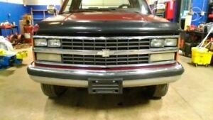 Front Bumper Chrome With Impact Strip Fits 88-00 CHEVROLET 2500 PICKUP 133
