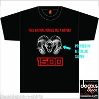 Custom Shirt for DODGE Ram Truck Drivers 1500 2500HD 3500HD CrewCab Lariat SLT