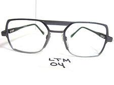 Vtg 1980s Squared Metal Aviator Eyeglass Frame Uc095 Usa Owp-89 C4 124 (Ltm-04)