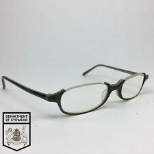 David ciulow Eyeglass Grigio META 'OCCHIO Rettangolo cornice autentico. MOD: DC. 262