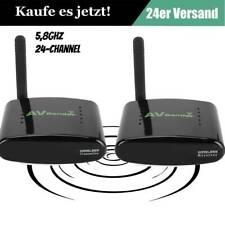 5.8 GHz Wireless Funk Übertragung Audio Video AV Sender & TV Empfänger Good