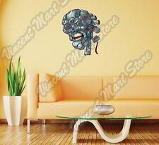 "Robot Skull Angry Terminator Robocop Wall Sticker Room Interior Decor 20""X25"""
