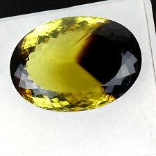 VVS 91 Cts Natural Bio Lemon Quartz Pendant Size Huge AAA Premium Grade Gemstone