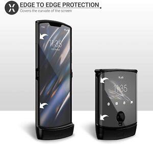 For Motorola Moto Razr 2019 Hydrogel Film Clear TPU Screen Protectors Front Main