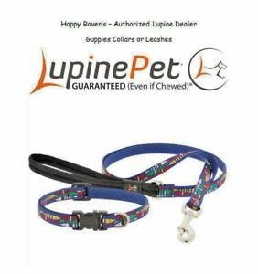"ON SALE Lupine Lifetime Limited Edition Dog Collars or Leashes - 1/2"" -  GUPPIES"