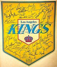 Vintage 70s Los Angeles Kings Hockey Iron-On Transfer RARE!