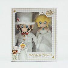 Super Mario Odyssey Plush Doll Stuffed Toy Peach & Mario Wedding Style F/S Track