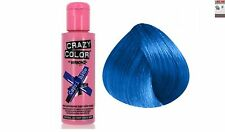 CRAZY COLOR SEMI PERMANENT HAIR DYE 100 ML * All Colours Available *