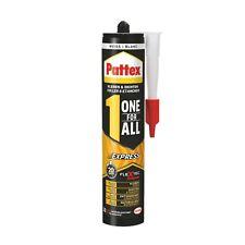 3x Pattex One for All Express Monatgekleber Italienisches Layout 390g Weiß