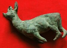 Ancient bronze figure in animal style