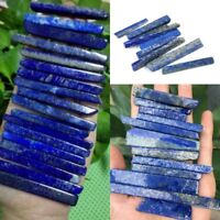 50G Natural Lapis Lazuli Blue Long  Quartz Crystal Point Pendant Healing Stone