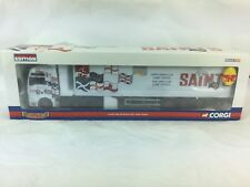 Corgi 1:50 CC13406 MAN TGA XXL Box Trailer Saints Transport Special Edition 350