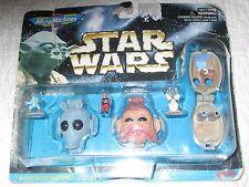 Star Wars Micro Machines Collection II -Greedo, Nien Nunb & Tusken Raider *NEW*