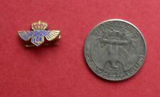 enamel LAPEL pin / brooche KLM royal dutch airlines 60's        <D>