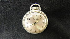 WESTCLOX POCKET BEN SILVER TONE POCKET WATCH RUNNING MADE IN THE USA