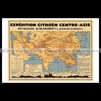 #phpb.000931 Photo EXPEDITION CITROËN CENTRE-ASIE 1931 CROISIERE JAUNE A4 Advert