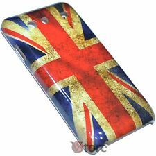 Cover Per Samsung Galaxy S Advance I9070 Bandiera Inglese Retro + Pellicola