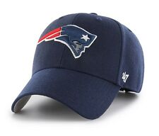 New England Patriots 47 Brand MVP Clean Structured On Field Wool Hat Cap NFL