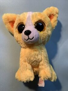 "TY BEANIE BOOS - DANDELION the 6"" DOG - GIFT SHOW EXCLUSIVE - Rare"
