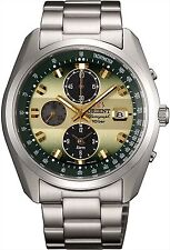 ORIENT Solar Neo70's Chronograph Horizon WV0021TY Men's Wrist Watch