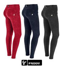 Freddy WR.UP® Damen Hose mit normaler Leibhöhe Skinny-Passform, in Marmor Optik