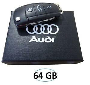 Audi Car 64GB Remote Key USB Flash/Pen Drive/Stick / UDisk. (gift boxed)